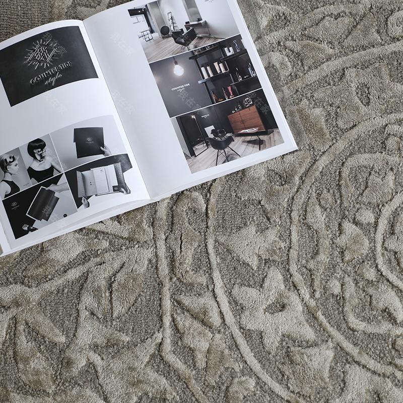 毯言织造品牌印度花型手工羊毛地毯