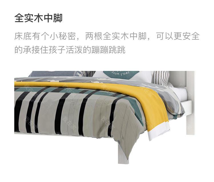 北欧儿童风格北欧-科林儿童床的家具详细介绍
