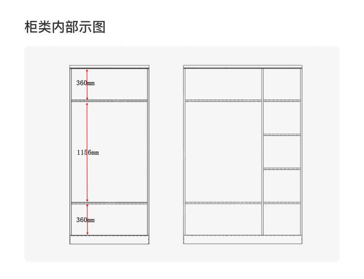 美式儿童风格美式-巴泽尔衣柜的家具详细介绍