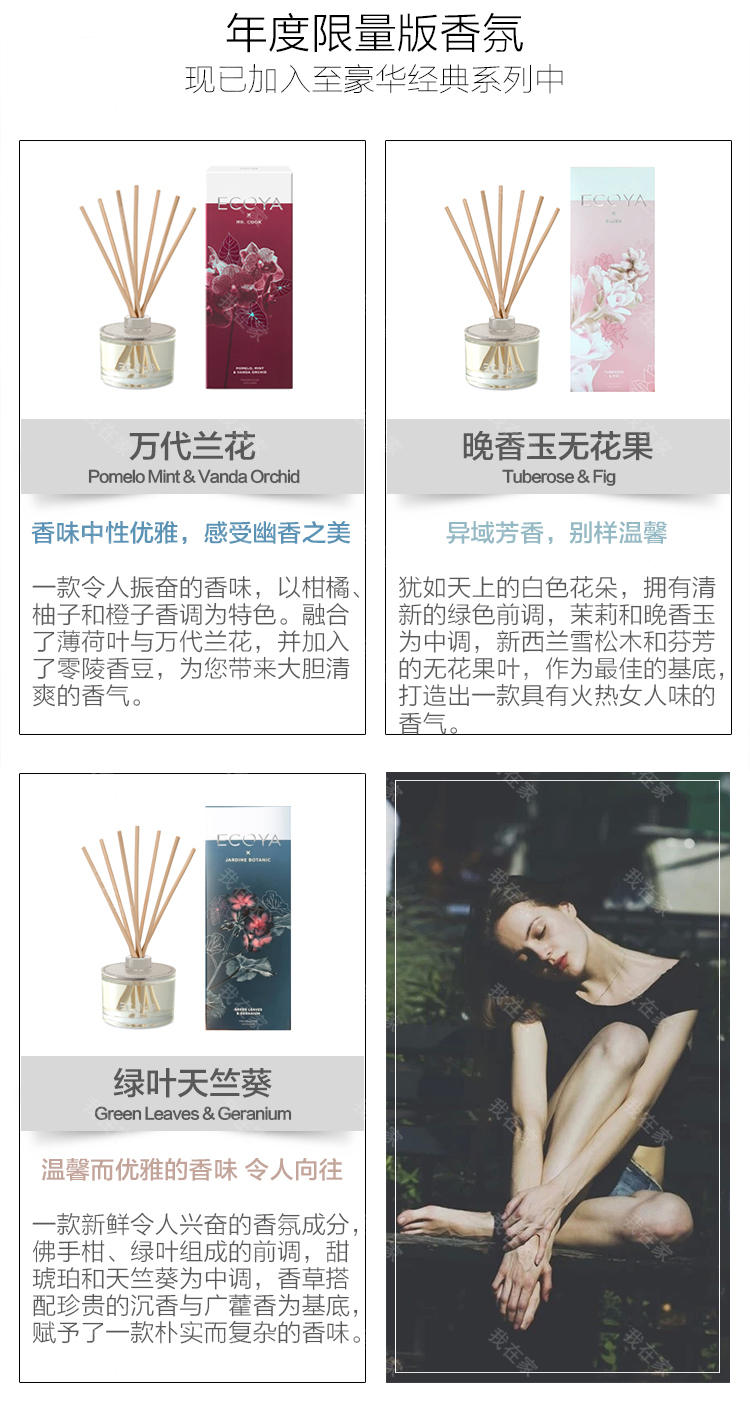 ECOYA香氛品牌艺术家系列无火熏香瓶的详细介绍