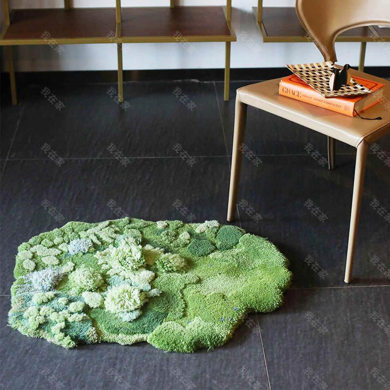 毯言织造品牌蝴蝶花园地毯